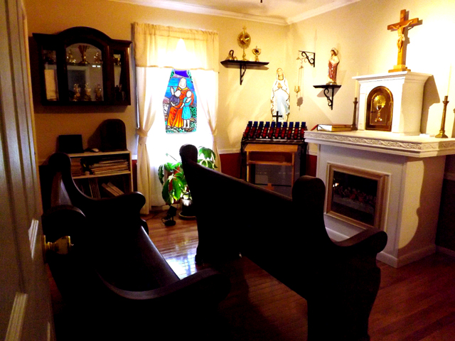 Blessed Francis X Seelos Residence Chapel Chesterfield Va